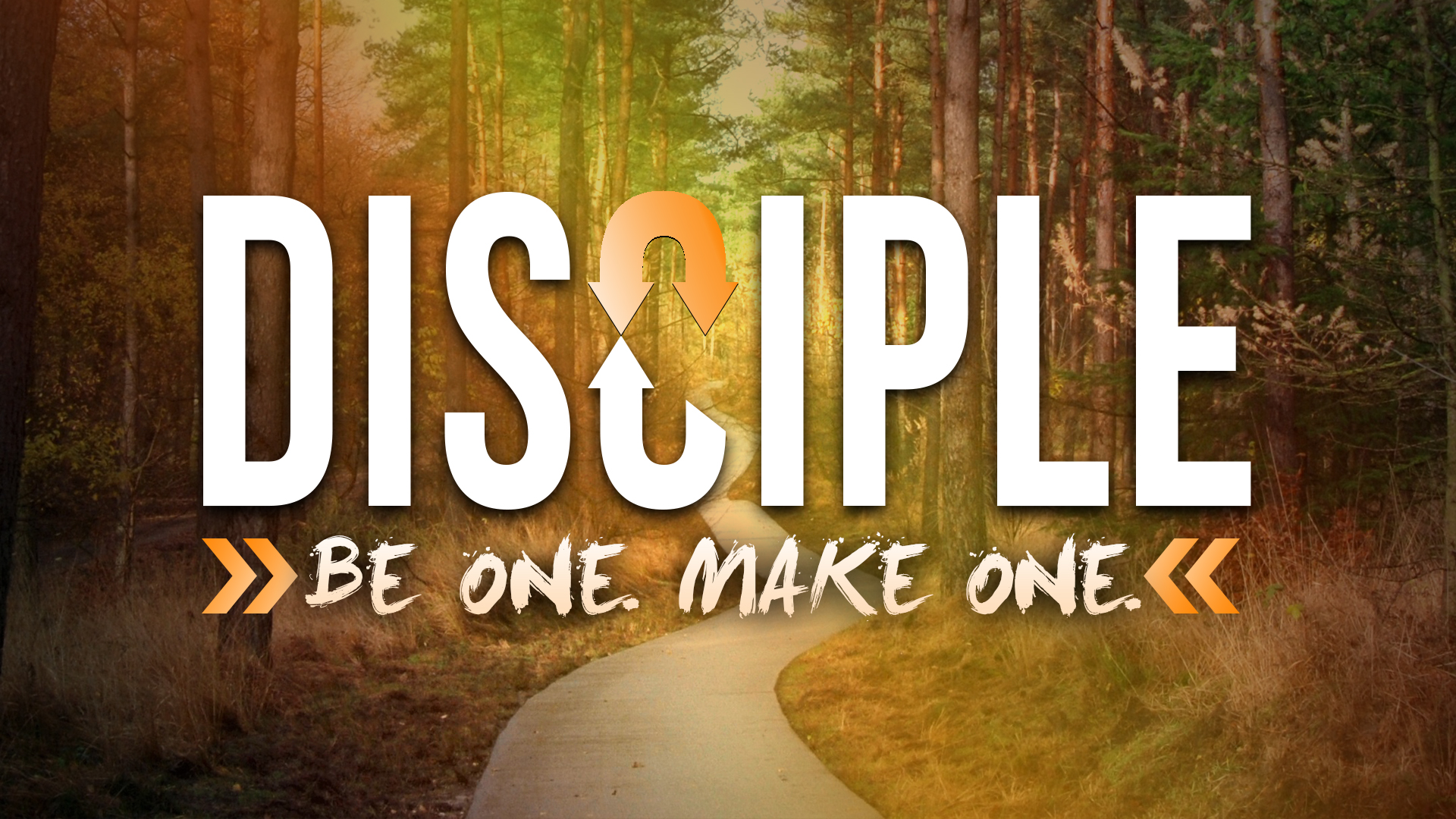 disciple be one make one slide
