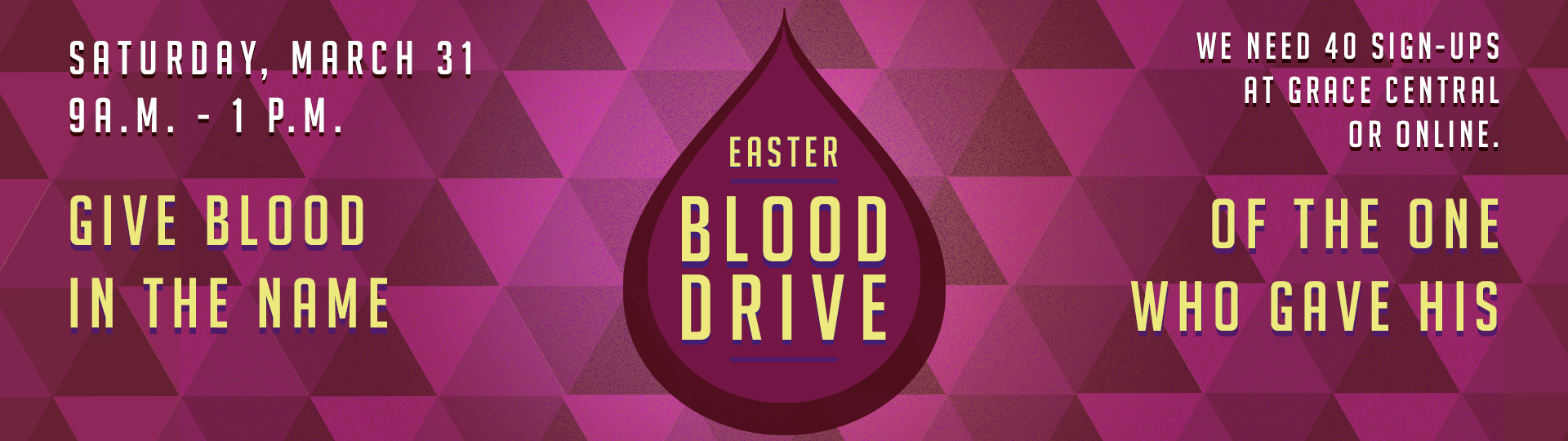 blood drive easter web