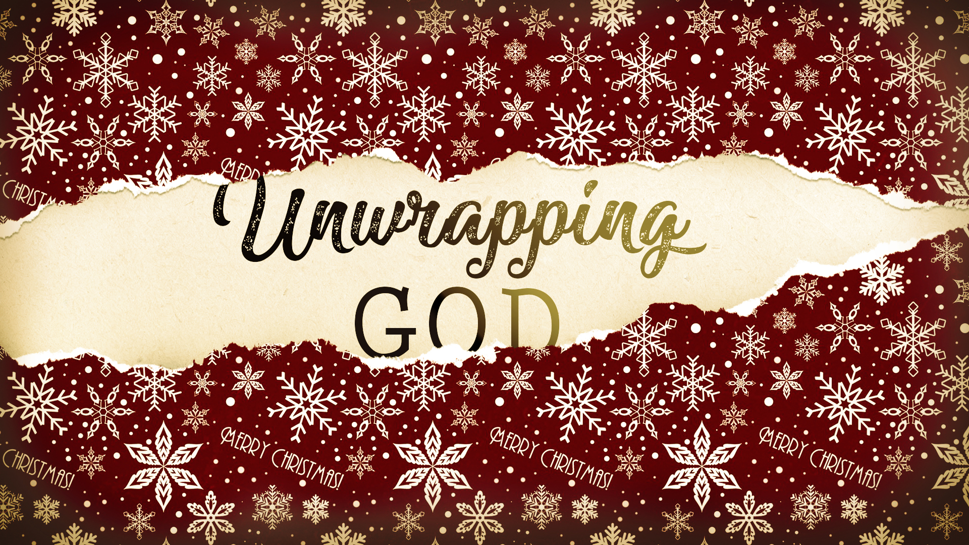 unwrapping god
