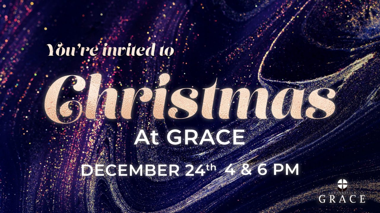 Christmas at grace promo 2019